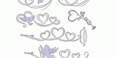 Amorous Cardio Set Free DXF File