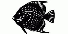 Fish To Laser Cut Free DXF File