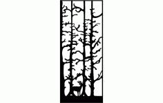 Deer Door Free DXF File