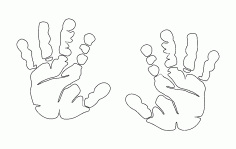 Hands Better Free DXF File