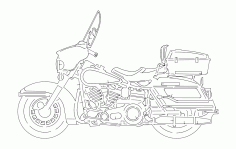 Harley Free DXF File