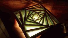 Squares Light Lamp Template Free CDR Vectors Art