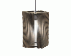 Laser Cut Lamp 16 Template Free CDR Vectors Art