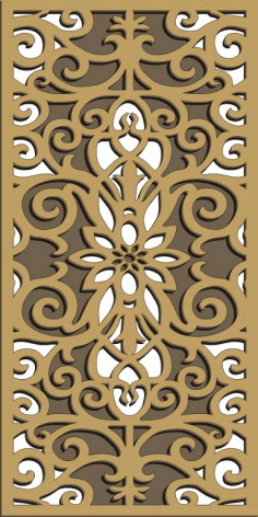 Window Grill Pattern For Laser Cutting 80 Free CDR Vectors Art