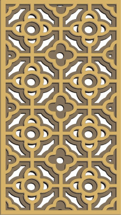 Window Grill Pattern For Laser Cutting 62 Free CDR Vectors Art