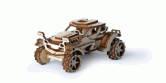 Wooden Car Toy Template Laser Cut Free CDR Vectors Art
