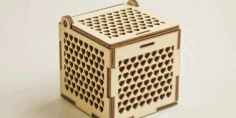 Wood Cnc Cut Jewelry Box Free DXF File