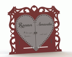 Laser Cut Cnc Card Free CDR Vectors Art