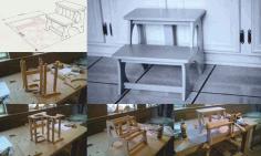 Laser Cut Cnc Kids Step Stool Router Plans Free CDR Vectors Art