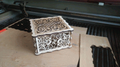 Decor Box Laser Cut 3d Puzzle Free CDR Vectors Art