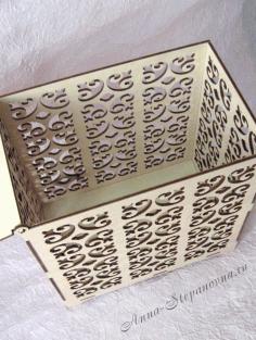 Wedding Box Laser Cut 3d Puzzle Free CDR Vectors Art