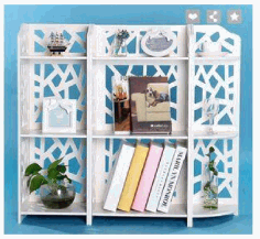 Laser Cut Bookshelf Storage Rack Template 3d Puzzle Free CDR Vectors Art