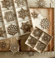 Laser Cut Tree Snowflakes 3d Puzzle Free CDR Vectors Art