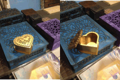 Laser Cut Heart Shaped Stash Box 3d Puzzle Free CDR Vectors Art