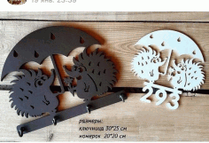 Laser Cut Hedgehog Key Hanger 3d Puzzle Free CDR Vectors Art