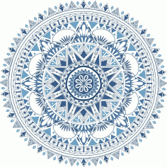 Boho Pattern Style Graphic Ornament Free CDR Vectors Art