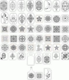 Chopping Board Decor Ornament Free CDR Vectors Art