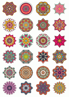 Decorative Elements And Ornament Set Free CDR Vectors Art