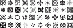 Decorative Ornaments Pack Free CDR Vectors Art