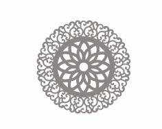 Mandala Of Circle Art Ornament Free CDR Vectors Art