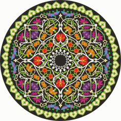Mandala Ornament Free CDR Vectors Art