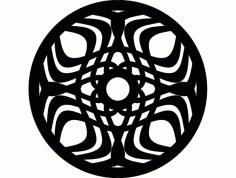 Mandala 5 Ornament Free DXF File