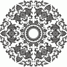 Thai Ornament Free CDR Vectors Art