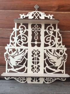 Laser Cut Shelf Decorative 3d Puzzle Free CDR Vectors Art