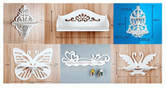 Laser Cut Shelves Collection 3d Puzzle Free CDR Vectors Art