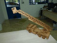 Laser Cut Aerial Platform Free CDR Vectors Art