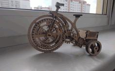Laser Cut Bike Free CDR Vectors Art