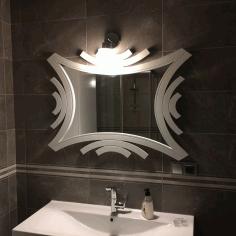 Laser Cut Ayna Free DXF File