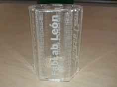 Laser Cut Decorative Glass Free DXF File