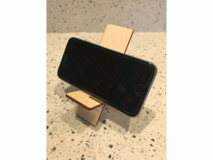 Laser Cut Iphone Stand Free DXF File