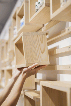 Laser Cut Modular Shelving Units Free DXF File
