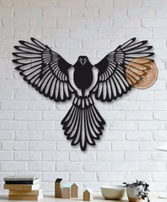 Laser Cut Wood Wall Art Free DXF File