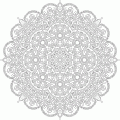 Decor Mandala Design Ornament Free CDR Vectors Art