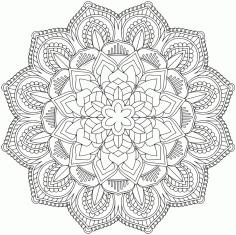 Mandala Design Vector Ornament Free CDR Vectors Art