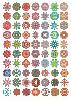 Decorative Mandala Ornaments Free CDR Vectors Art