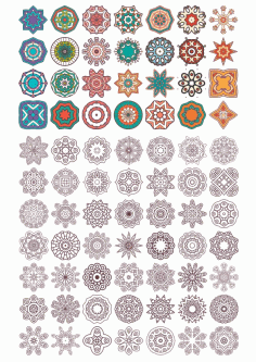 Vector Mandala Ornament Free CDR Vectors Art