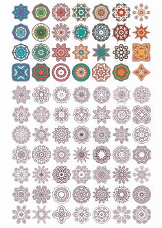Vector Mandala Ornament Free CDR Vectors Art