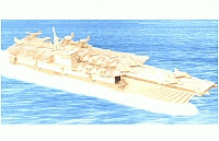 Aircraft Carrier Laser Cut Free DXF File