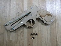 Revolver By Geniusss Laser Cut Free DXF File