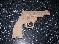 Revolver Laser Cut Free DXF File