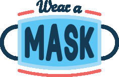 Wear A Mask Banner covid-19 Free DXF File