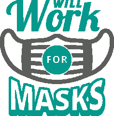 Will Work For Masks Coronavirus Disease covid-19 Free DXF File