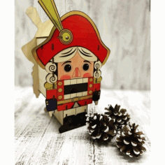 Laser Cut The Nutcracker щелкунчик Free CDR Vectors Art
