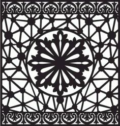 Cnc Jali Design Jali Patterns Download Free DXF File