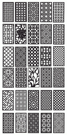Patterns Cnc Plasma Cuttings Download Free DXF File