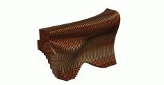 Cnc Laser Cut Parametric Recepion Free DXF File